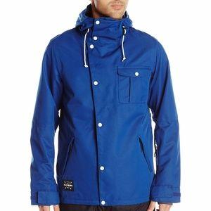 NWT Dakine Men's Baring Jacket Small Deep Blue